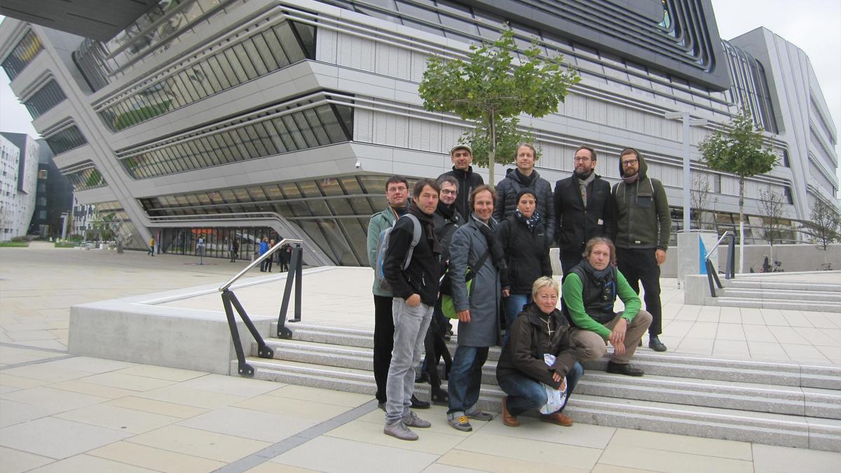 Assem Architekten Büroausflug Wien
