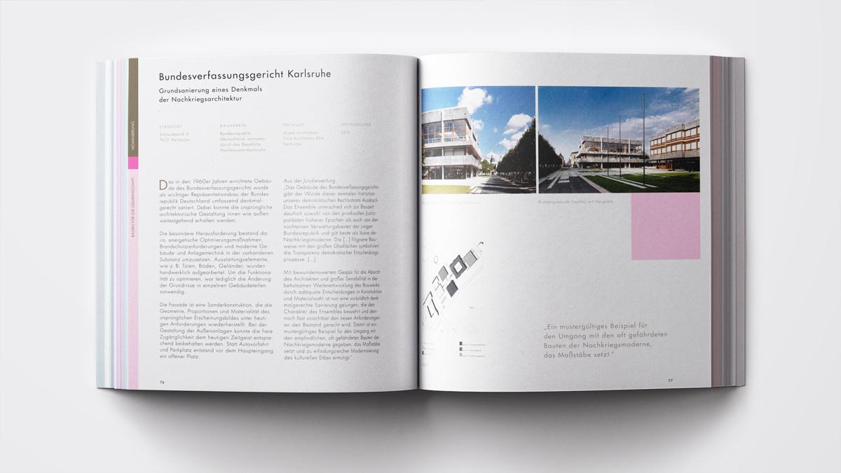 Staatspreis Baukultur Grundsanierung Bundesverfassungsgericht Karlsruhe