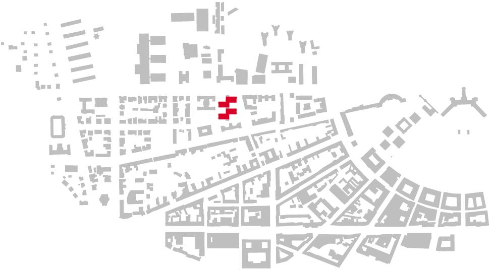 Schwarzplan Pädagogische Hochschule Karlsruhe