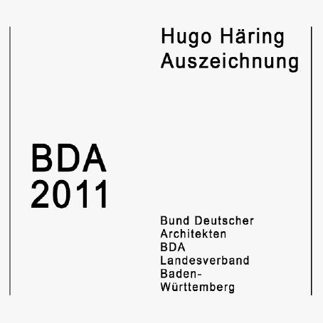 Hugo-Häring-Auszeichnung 2011