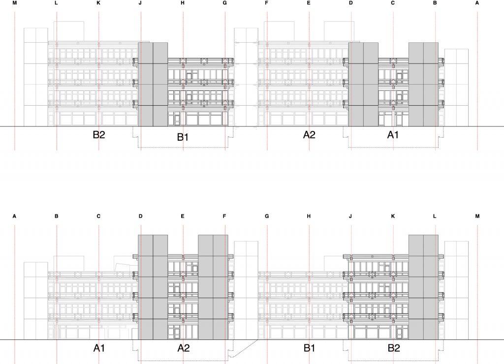 Ansichten Grundsanierung Pädagogische Hochschule Karlsruhe