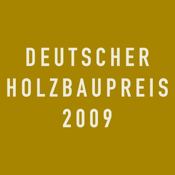 Deutscher Holzbaupreis 2009 Logo