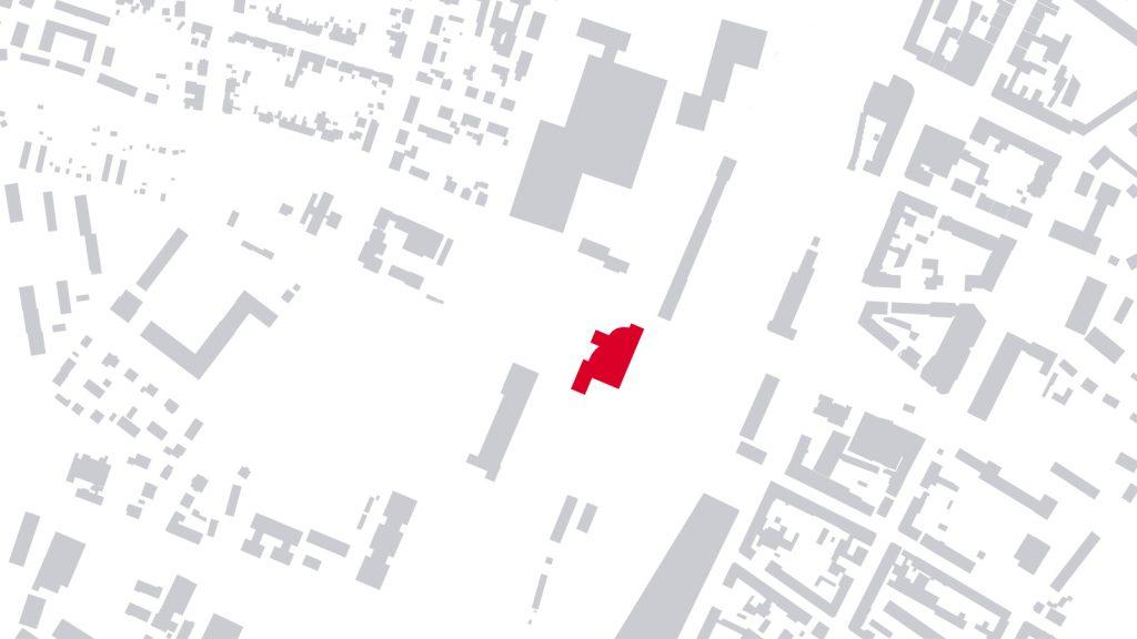 Schwarzplan ADAC Haus Bruchsal