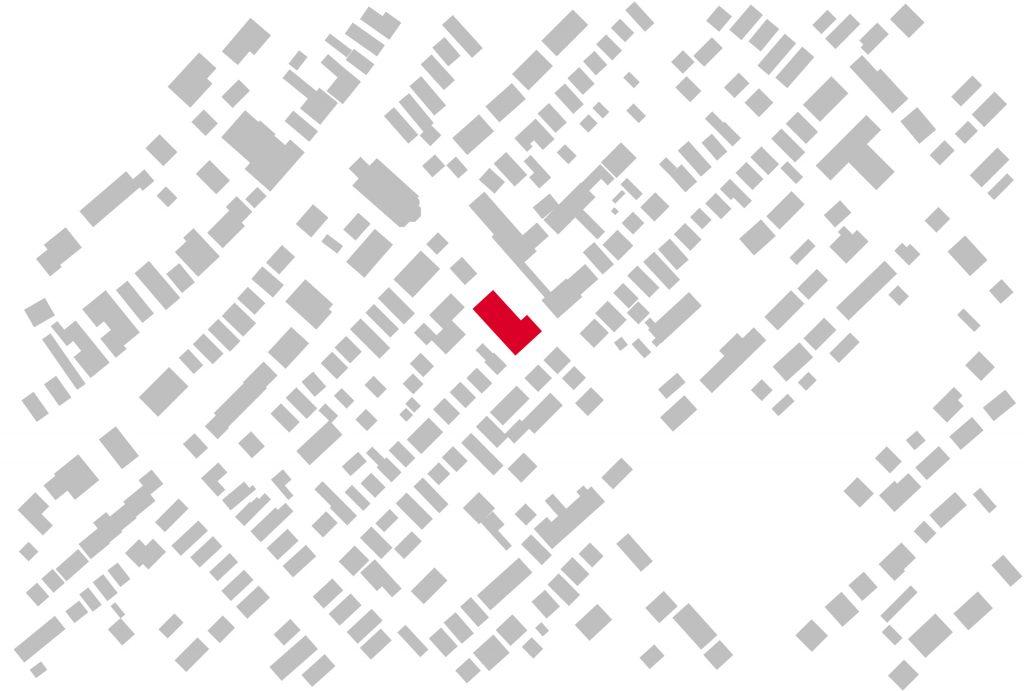 Schwarzplan Neubau Turngemeinde Neureut