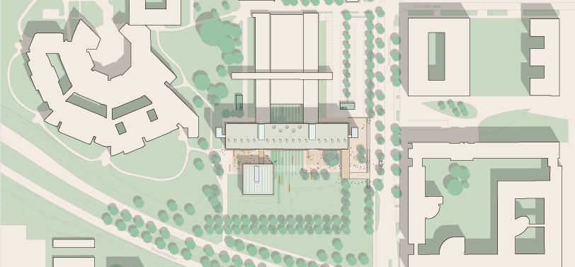 Lageplan Heinrich-Hertz-Schule Karlsruhe