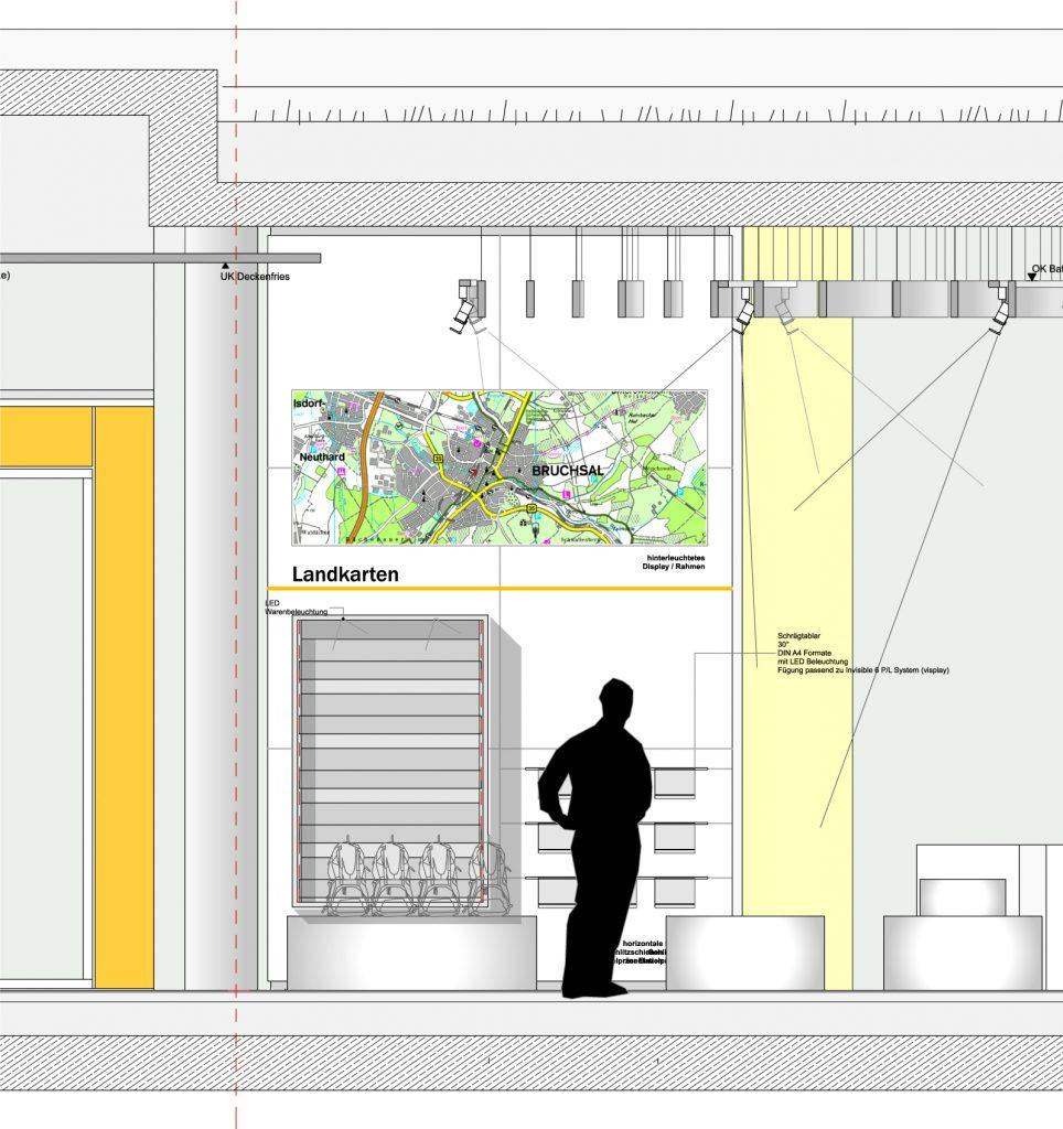 Innenansicht Neubau ADAC Haus Bruchsal