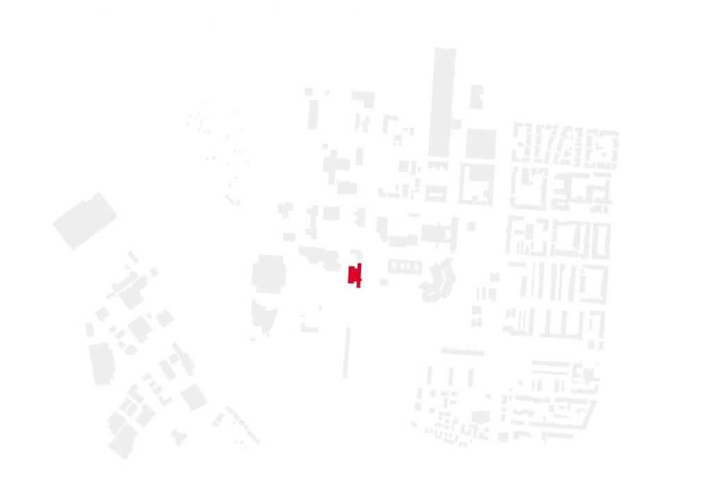 Schwarzplan ADAC Haus Karlsruhe