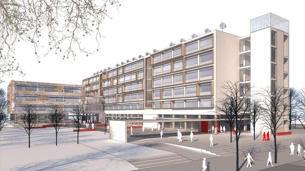 Visualisierung/Perspektive Erweiterung Heinrich-Hertz-Schule Karlsruhe