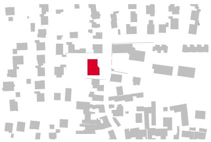 Schwarzplan Gemeindezentrum Leutershausen