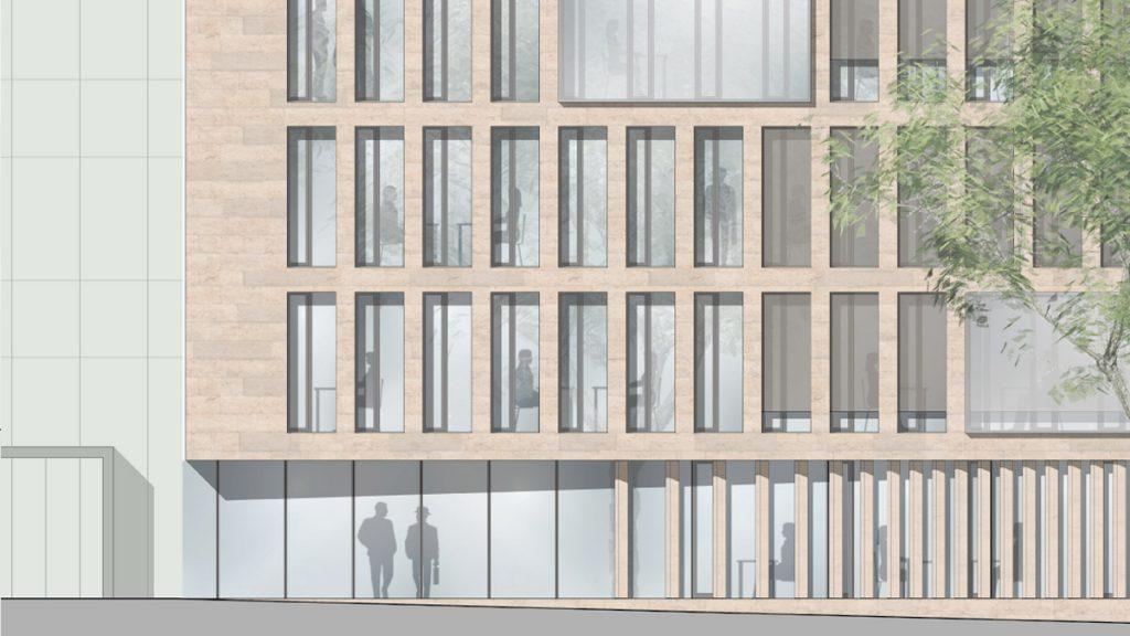 Fassadenschnitt Germersheim